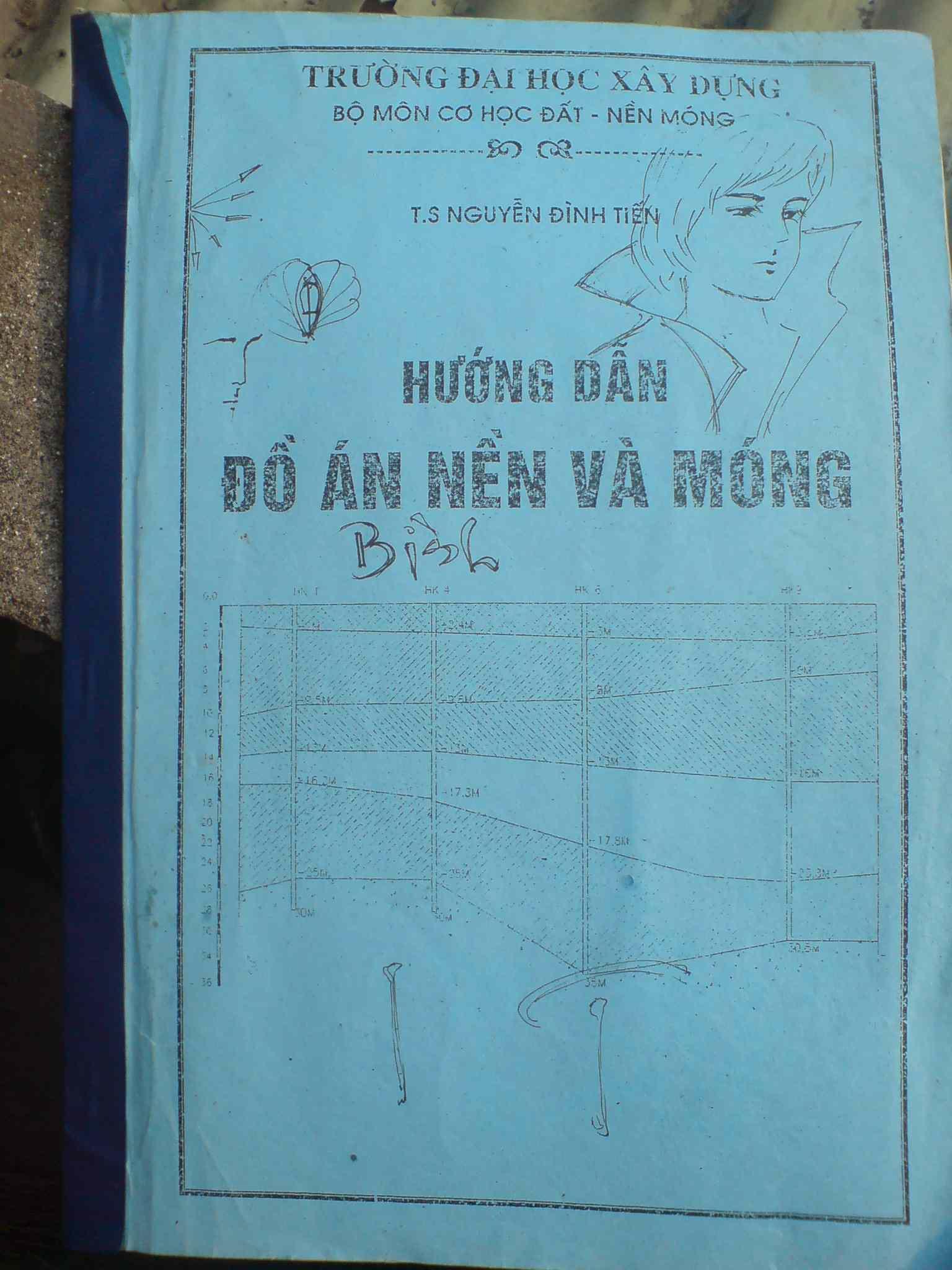 Hướng dẫn đồ án nền móng - Nguyễn Đình Tiến