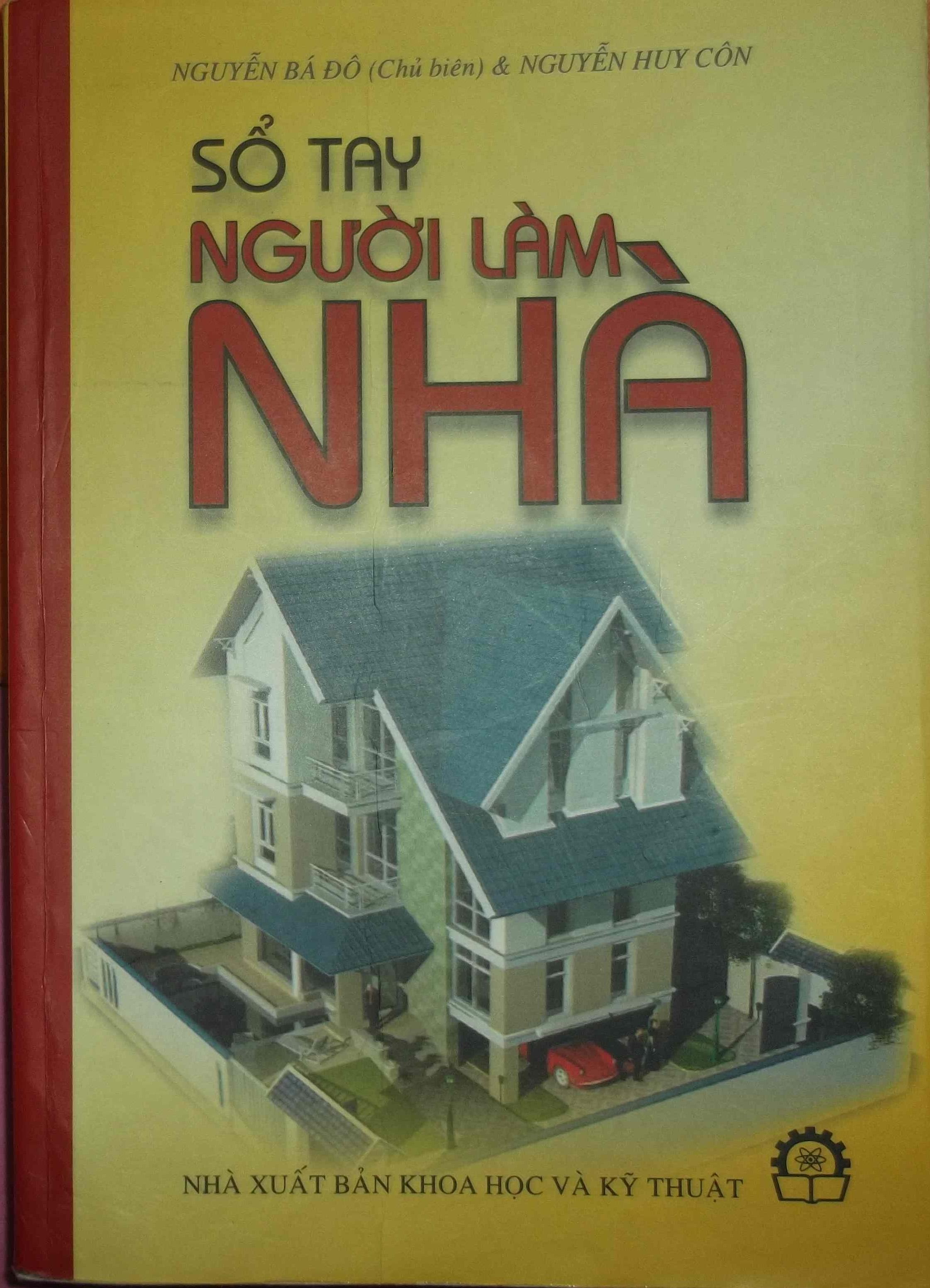 Sổ tay người làm nhà - Nguyễn Bá Đô