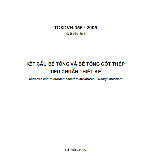 TCXDVN 356-2005