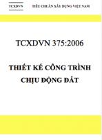 TCXDVN 375 -2006 Thiết kế công trình chịu động đất