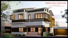 Thiết kế BVTC Biệt thự Nhà cô Hằng - Thái Nguyên