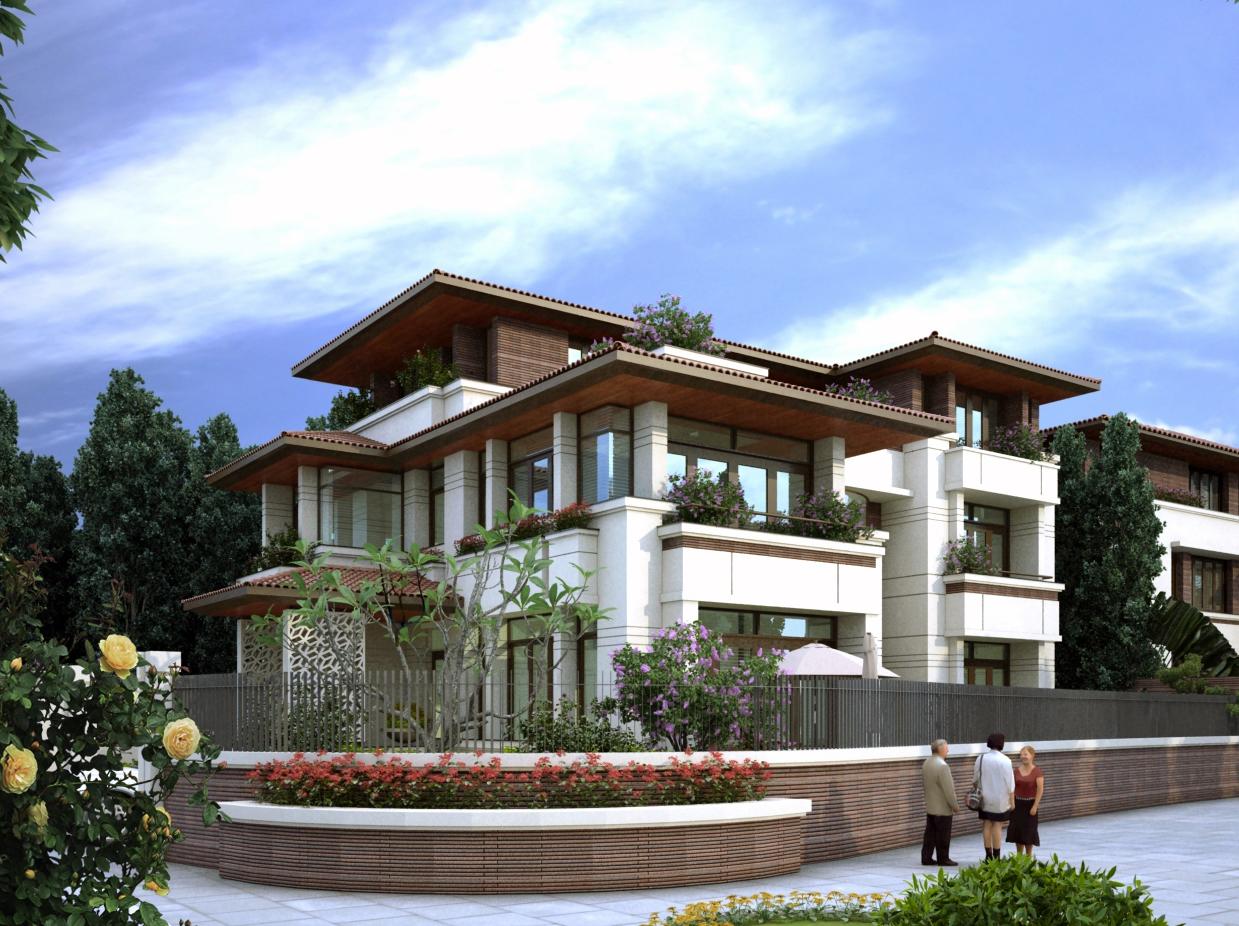 Thiết kế BVTC Biệt Thự nhà A Bảo - Hà Nội